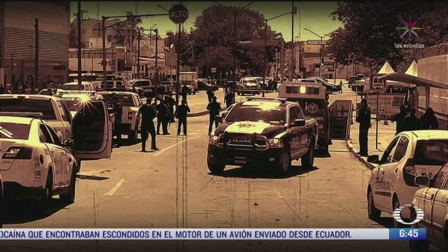atacan a agentes de seguridad en chihuahua muere un policia