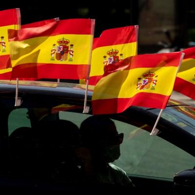 FOTO: España: diez días de luto oficial en homenaje a las víctimas de la pandemia, el 26 de mayo de 2020