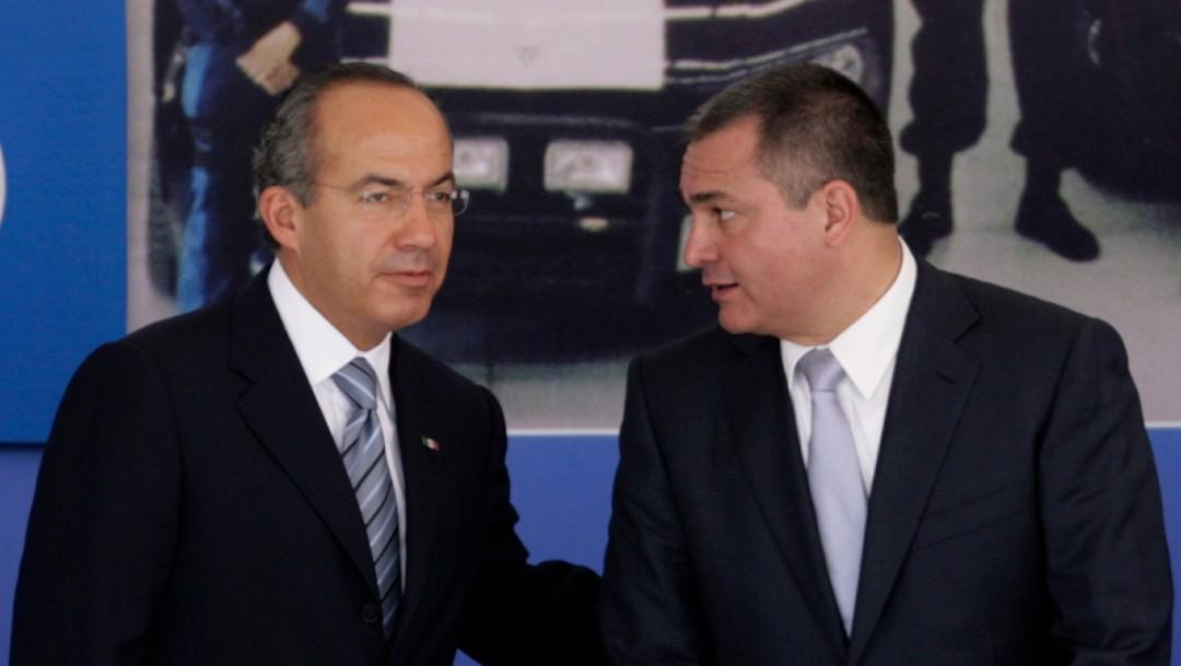 Foto: Calderón niega que supiera de nexos de García Luna con el narcotráfico