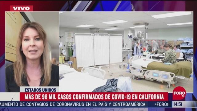 FOTO: california registra mas de 96 mil casos confirmados de coronavirus