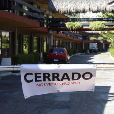 Cierran un hotel en Acapulco, Guerrero, por contingencia. Cuartoscuro