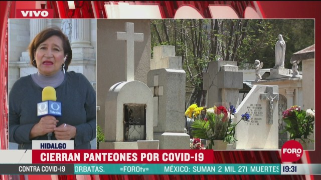 Foto: Panteones Cerrados Por Coronavirus 10 Mayo 2020