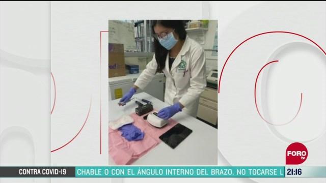 cinvestav desarrolla prueba portatil para detectar coronavirus