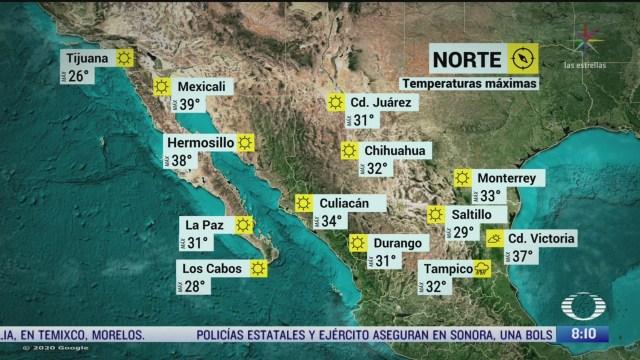 clima al aire preven fuertes lluvias en el sureste de mexico