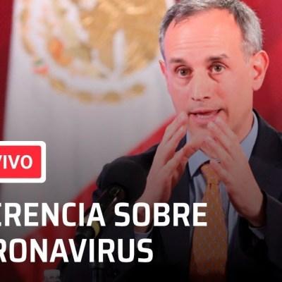 conferencia en vivo por el coronavirus en mexico de hoy 31 de mayo