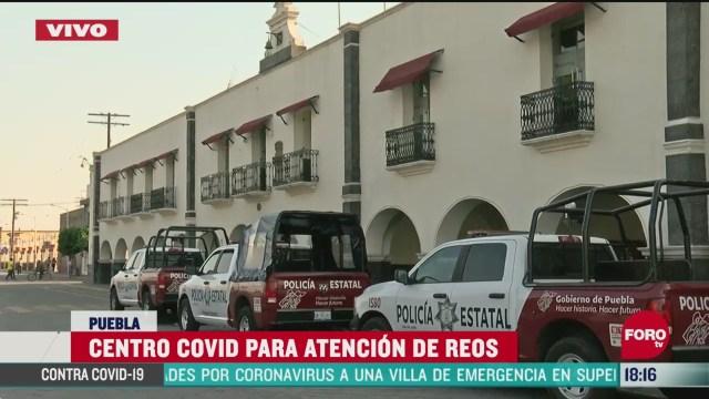 FOTO: confirman 9 casos de coronavirus en penal de huejotzingo puebla