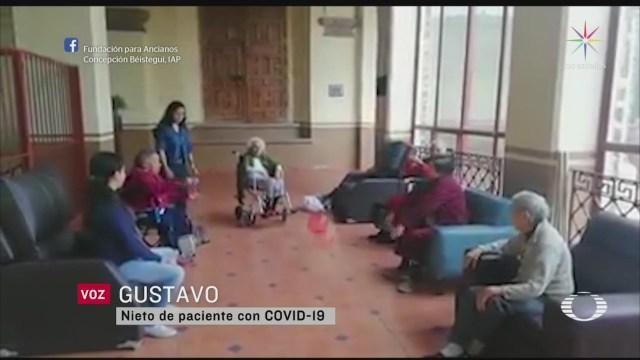 Mueren dos abuelitos en asilo de CDMX por COVID 19
