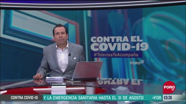 FOTO: contra el covid 19 televisateacompana primera emision del 20 de mayo de