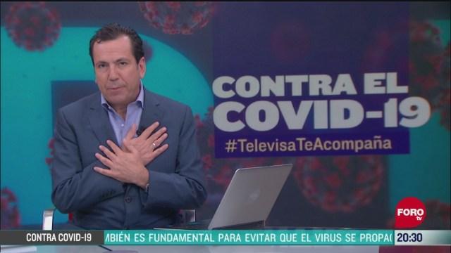 Foto: Contra El COVID Televisa Te Acompaña Recomendaciones Prevención Coronavirus Pandemia Cuarentena 19 Mayo 2020