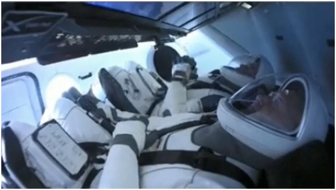 Foto: SpaceX tuvo un lanzamiento con éxito, 30 de mayo de 2020 (NASA)