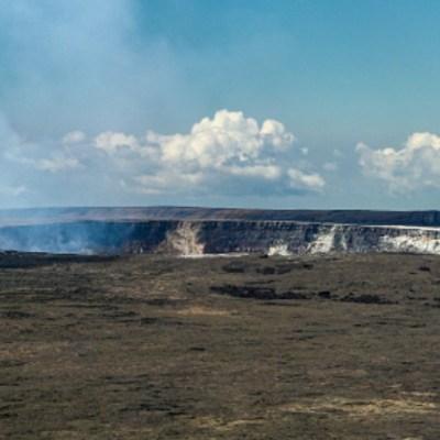 NASA descubre lago de agua en el volcán Kilahuea