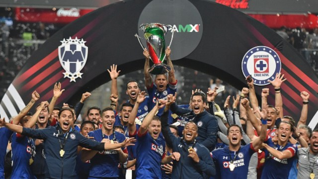 Cruz Azul ganó la Final de la Copa Mx Apertura 2018. Getty Images/Archivo
