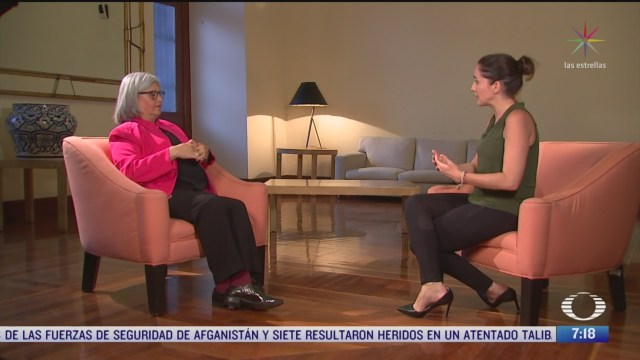 Entrevista con Graciela Márquez, para Despierta