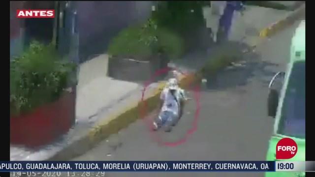 Difunden nuevo video del asalto en la Calzada Ignacio Zaragoza