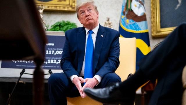 Donald Trump, presidente de Estados Unidos. Getty Images