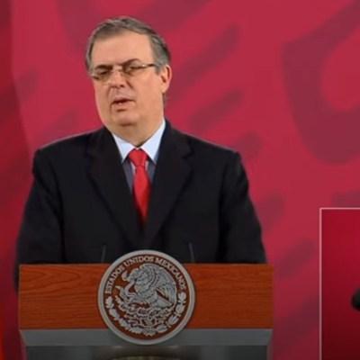 Ebrard: Hay 250 mexicanos con COVID-19 en Estados Unidos