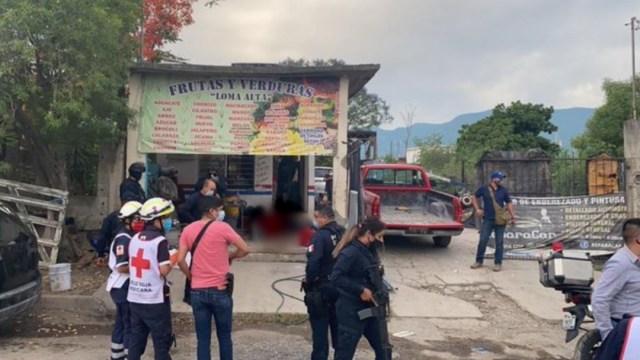 Foto: Ataque armado a frutería en Ciudad Victoria, Tamaulipas, 9 mayo 2020