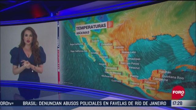 FOTO: el clima con mayte carranco del 15 de mayo del