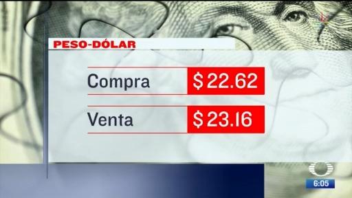 el dolar se vendio en 23 16 en la cdmx