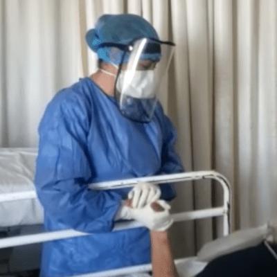 Video: Enfermera del IMSS canta a paciente con coronavirus COVID-19 para darle ánimo