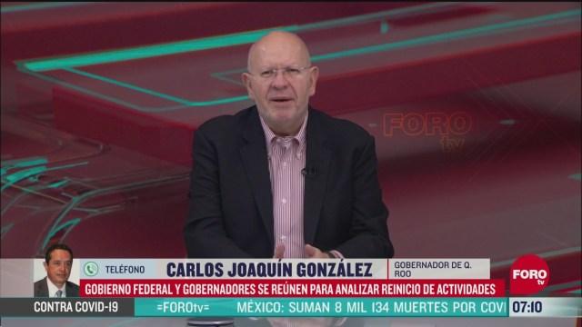 entrevista con carlos joaquin gonzalez gobernador de quintana roo en estrictamente personal