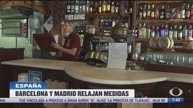 espana empieza a reabrir actividades tras disminucion de muertes por coronavirus