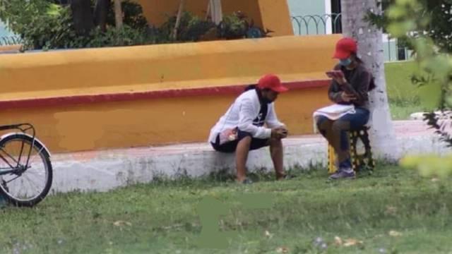 Estudiante Parque Juan Pablo II Yucatán Foto
