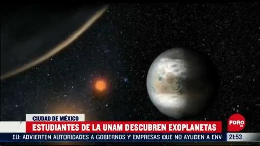 estudiantes de la unam descubren exoplaneta