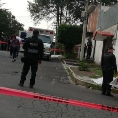 Balacera en colonia Héroes de Padierna, en Tlalpan, deja tres muertos