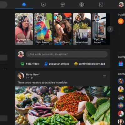 Facebook: ¿Cómo activar el nuevo diseño y el modo oscuro?