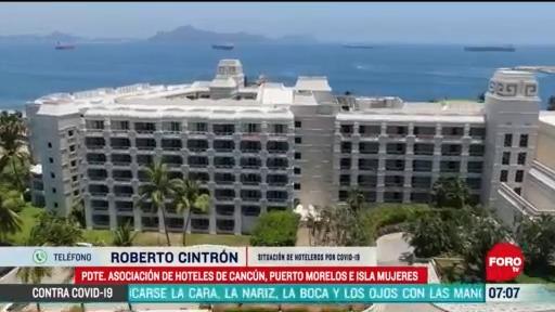 fechas de reactivacion escalonada de hoteles en cancun