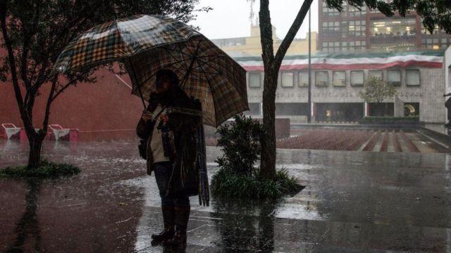 Foto: Llueve en algunas zonas de CDMX; alerta por caída de granizo', 6 de mayo de 2020, (Cuartoscuro)