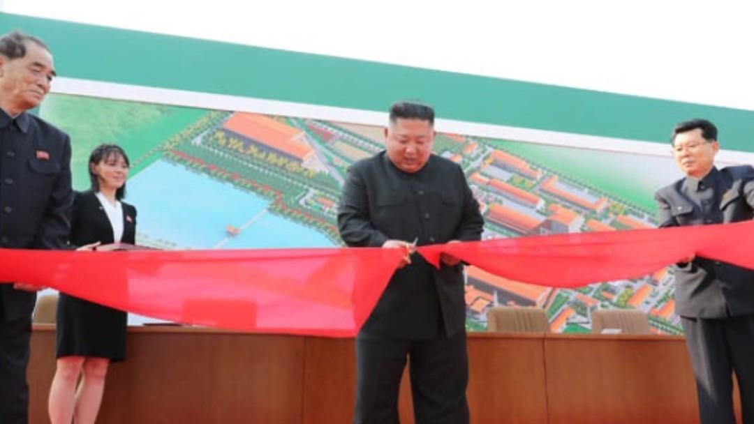 Foto: Kim Jong-un, líder de Corea del Norte. Twitter/Yonhap