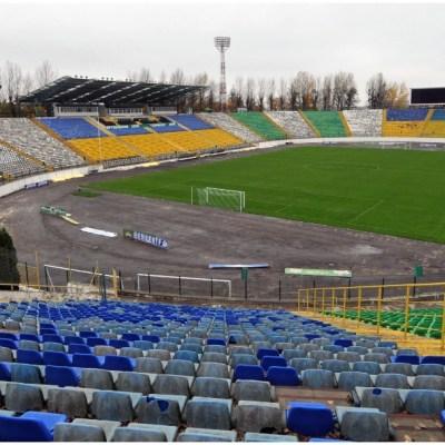 Imagen: Un partido de la liga de Ucrania fue suspendido por casos de COVID-19, 31 de mayo de 2020 (Getty Images)