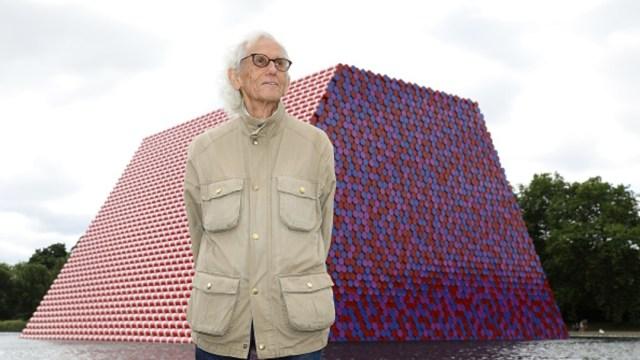 Foto: Muere el artista plástico Christo, a los 84 años, 31 de mayo de 2020, (Getty Images, archivo)