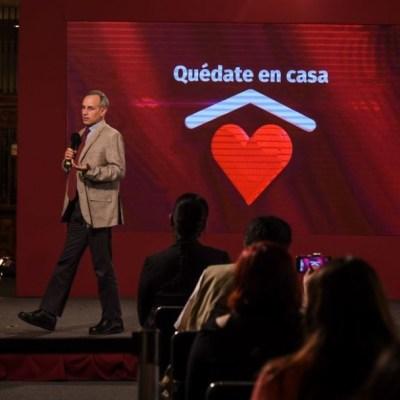 Hugo López-Gatell habla sobre letalidad y mortalidad por coronavirus. Cuartoscuro