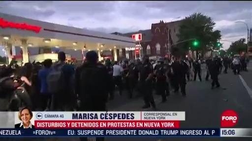 FOTO: 31 de mayo 2020, infiltrados estarian detras de saqueos y disturbios en marchas por muerte de floyd