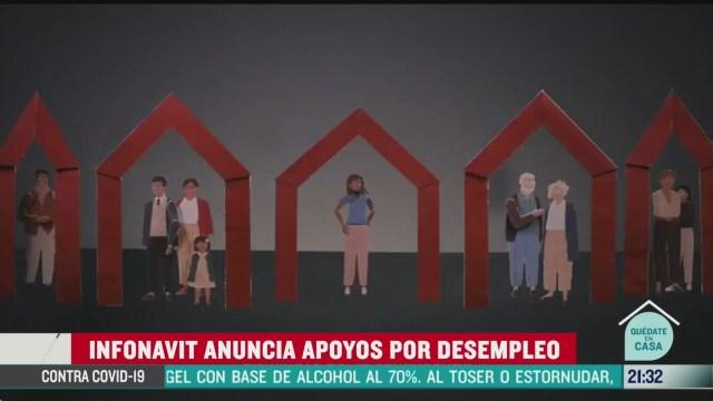 Foto: infonavit anuncia apoyos por desempleo 15 Mayo 2020