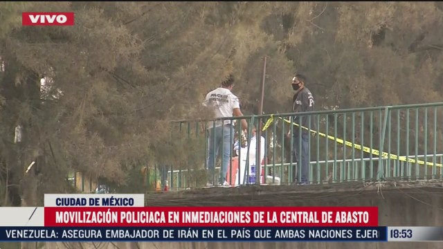FOTO: intento de asalto deja un muerto en inmediaciones de la central de abasto