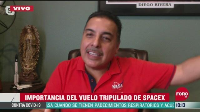 FOTO: 30 de mayo 2020, la importancia del vuelo tripulado crew dragon