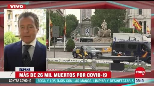las muertes por coronavirus reducen en espana