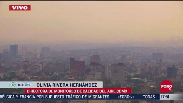 FOTO: mala calidad del aire en cdmx por medicion mas estricta