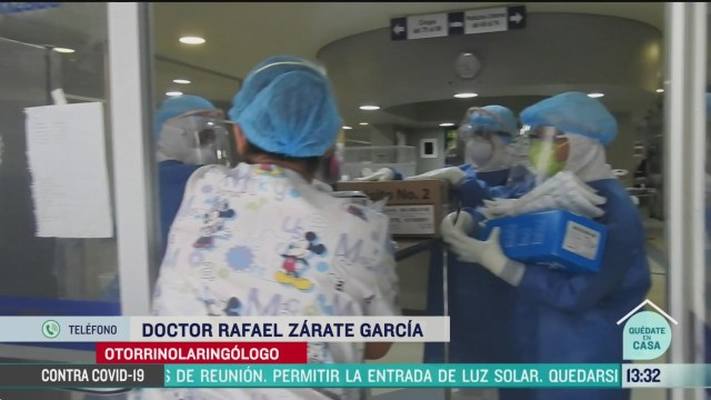 FOTO: manejo de residuos hospitalarios ante la pandemia del coronavirus