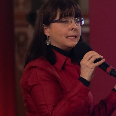 María Elena Álvarez-Buylla, directora de Conacyt, en conferencia. Cuartoscuro