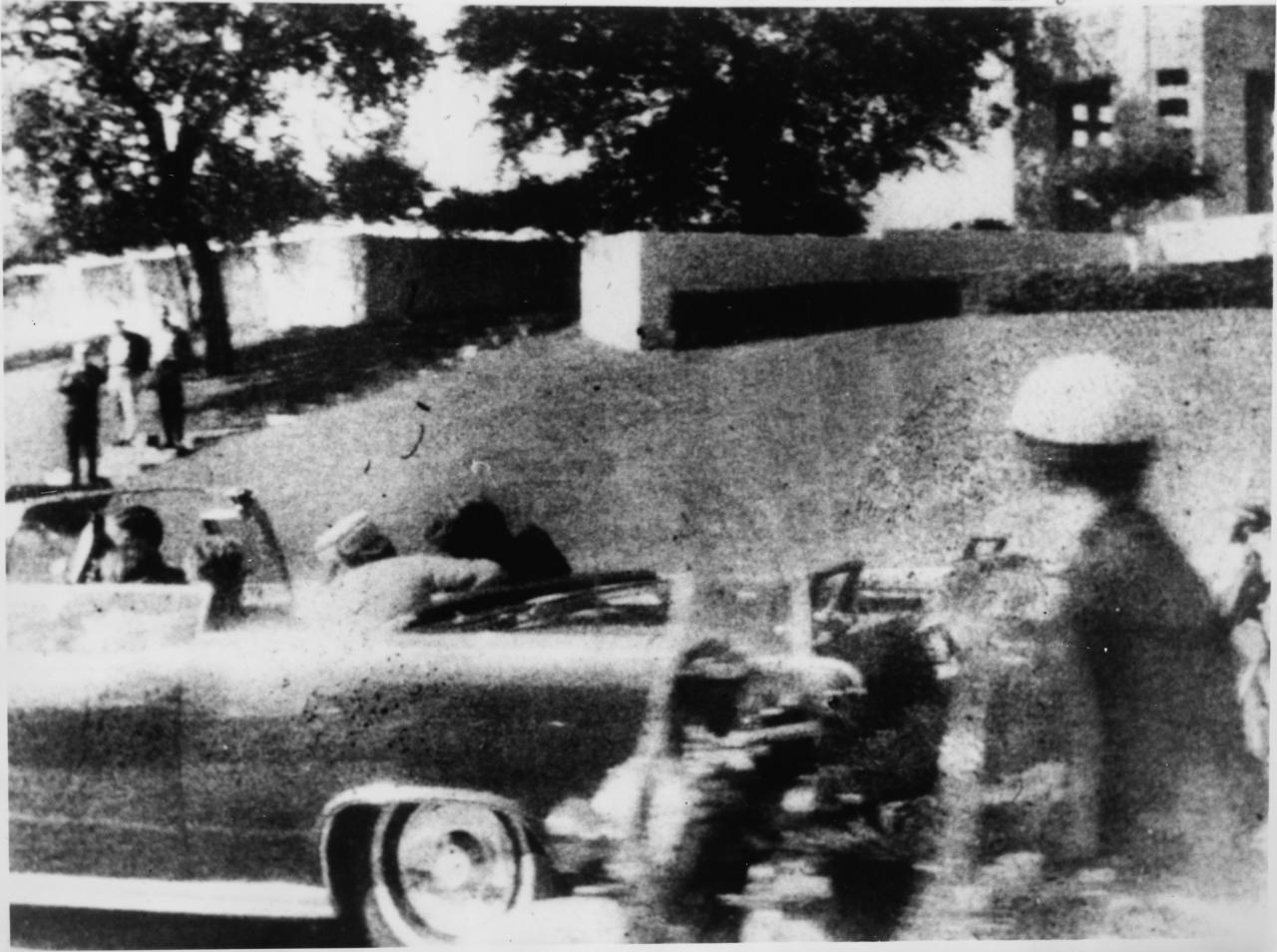 Momento del asesinato de John F. Kennedy en Dallas el 22 de noviembre de 1963. Fotografía de Archivo.