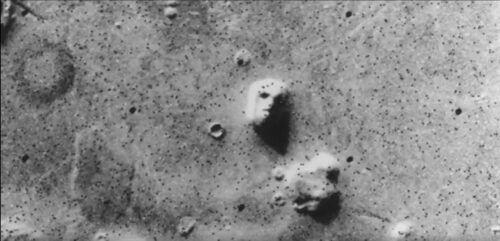 Marte Imagen NASA Cara Foto