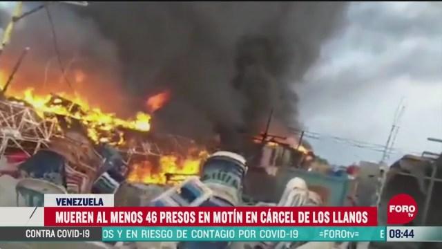 FOTO: 2 de mayo 2020, mueren 46 presos en un motin en la ciudad guanare venezuela
