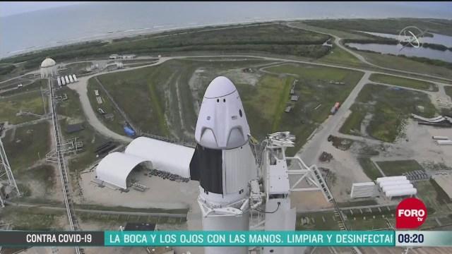 FOTO: 30 de mayo 2020,nasa realizara segundo intento de lanzamiento de mision tripulada al espacio