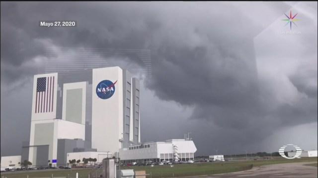 NASA y SpaceX, segundo intento de lanzamiento Crew Dragon