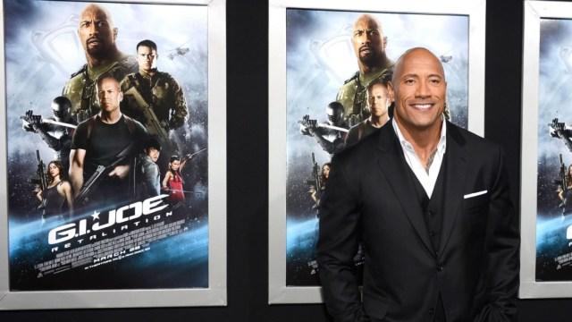 """El actor Dwayne Johnson en el estreno de """"G.I. Joe: Represalia"""" el 28 de marzo de 2013. Getty Images/Archivo"""